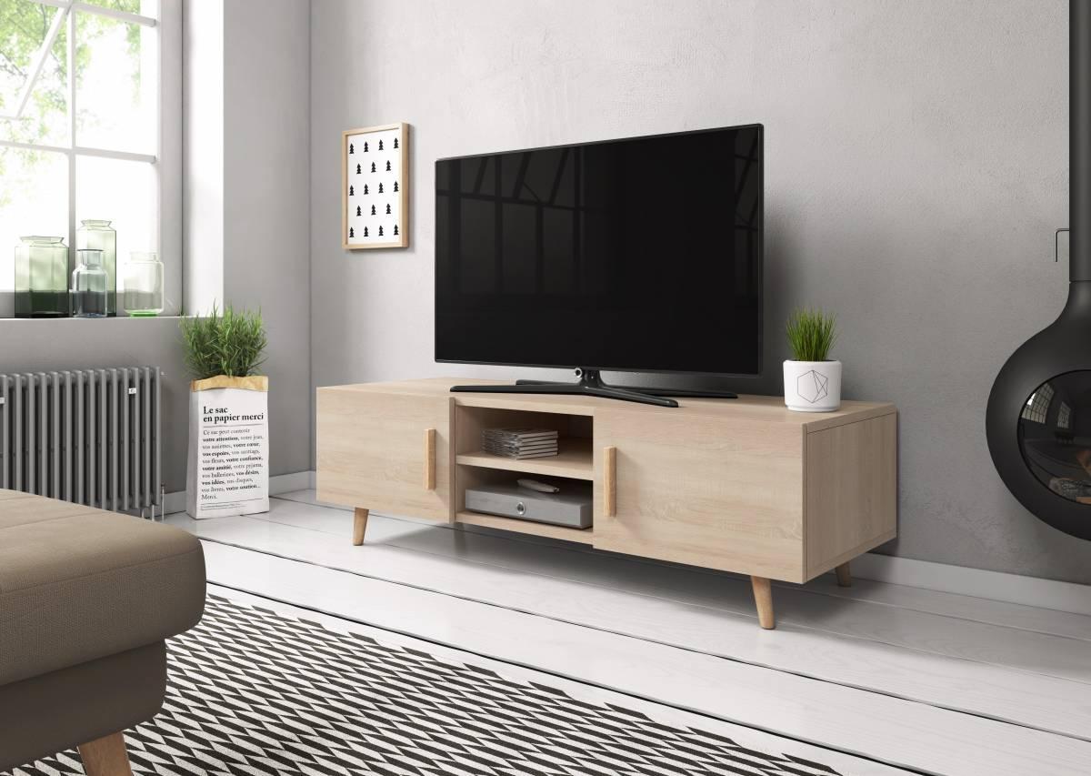 TV stolík/skrinka Sweden 2 (dub sonoma)