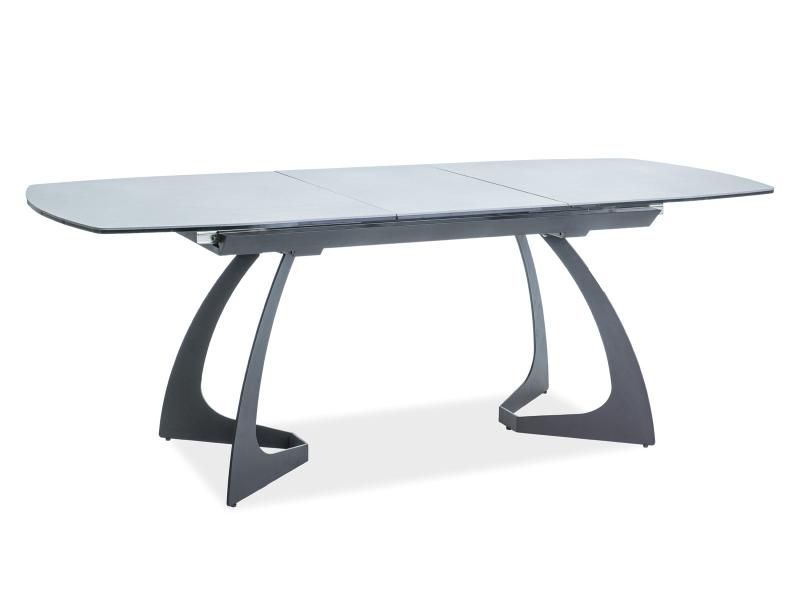 MARTINS jedálenský stôl, čierna/šedá