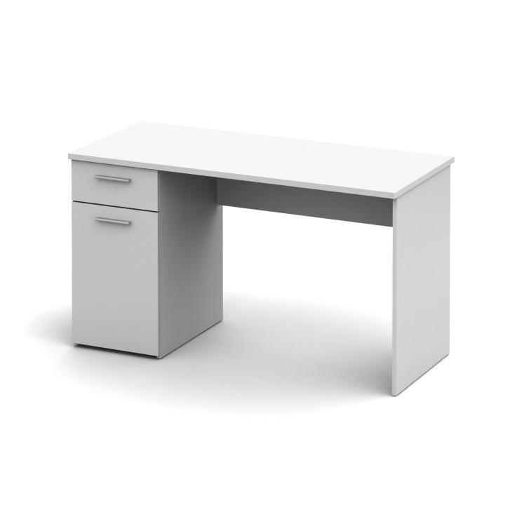 PC stolík Egon biela