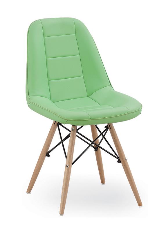 Jedálenská stolička VERI, zelená