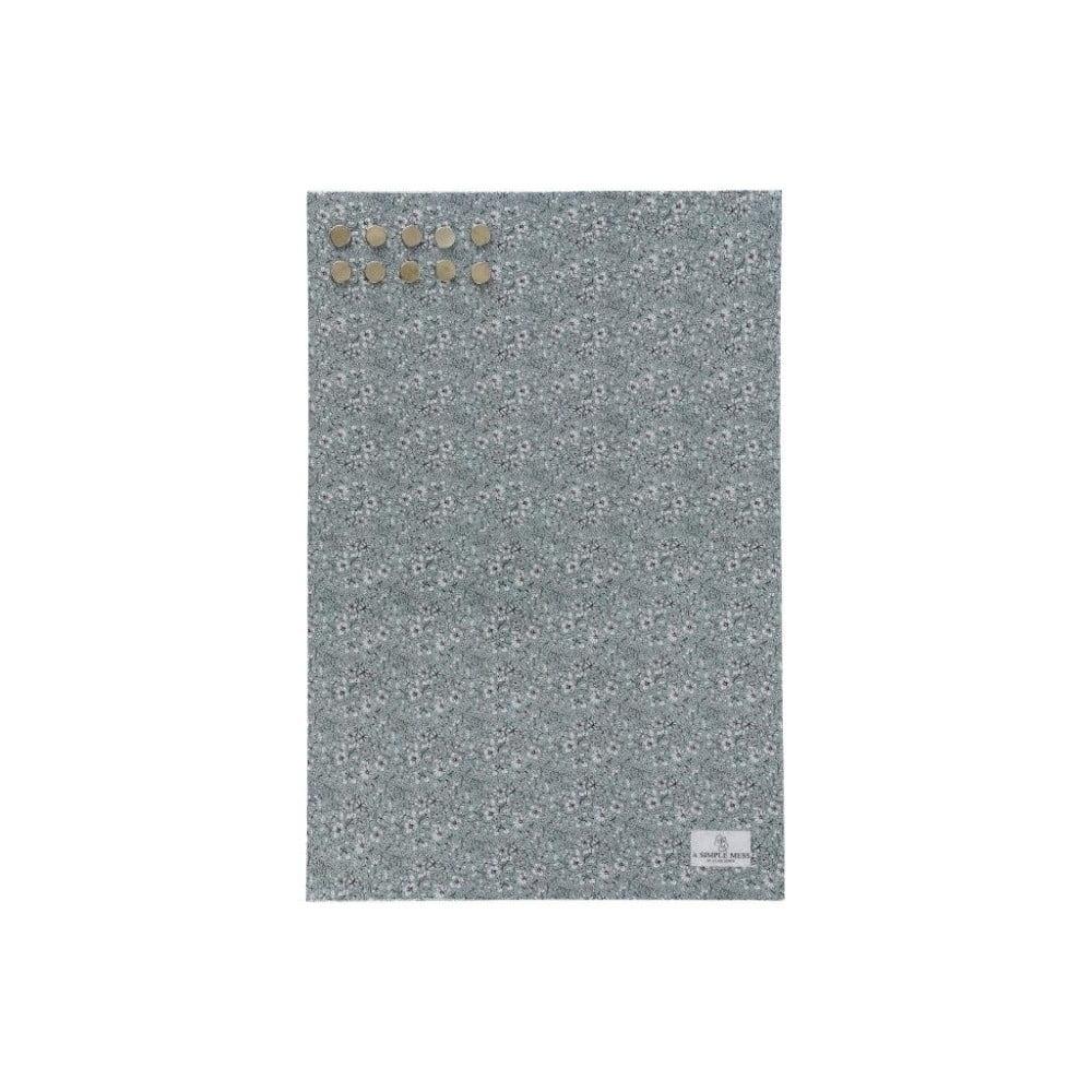 Kovová tabuľa na odkazy A Simple Mess Paule Hedge Green, 40×60 cm