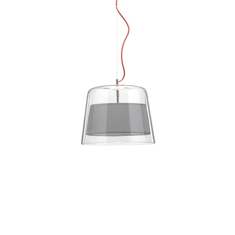 Sivé závesné svietidlo Design Twist Kalmar