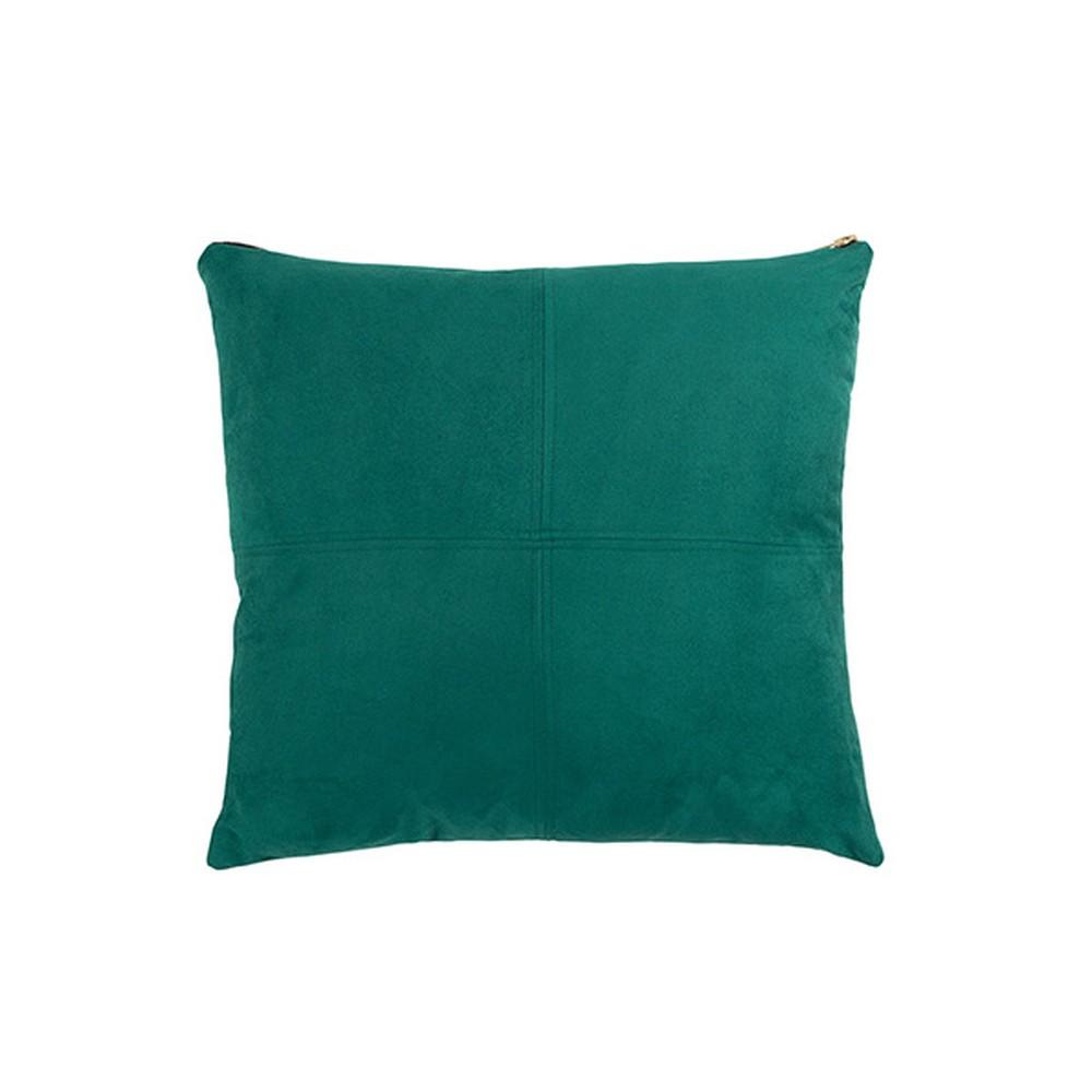 Zelený vankúš White Label Mace, 45 x 45 cm