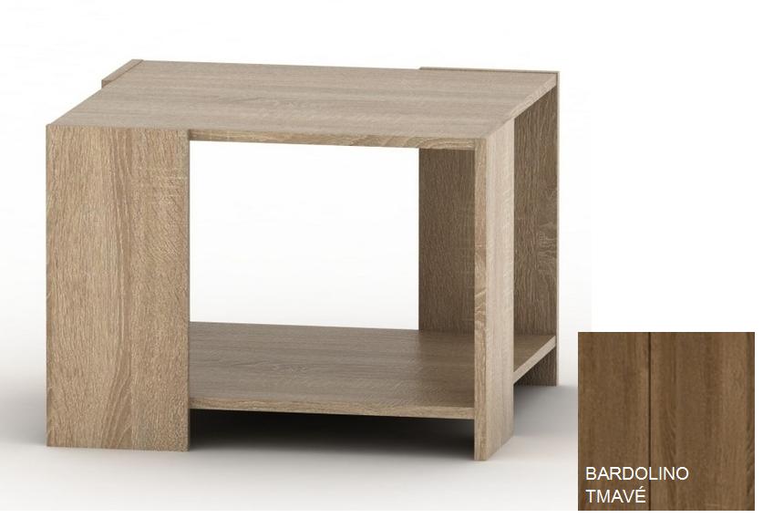 Konferenčný stolík TEMPO ASISTENT NEW 026   Farba: Bardolino tmavé