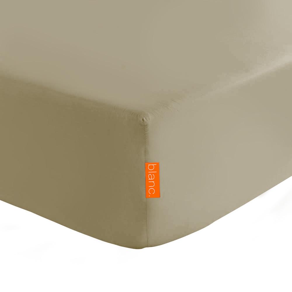 Svetlohnedá elastická plachta HF Living Basic, 180x200cm