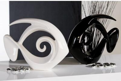 Dekoratívna soška ATLANTIC - biela