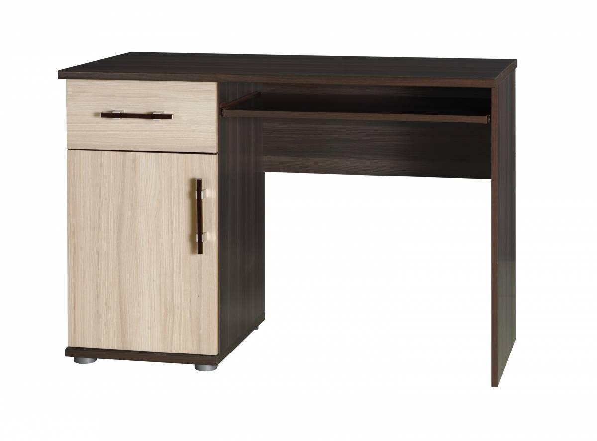 PC stolík I14 (jaseň tmavý + jaseň)