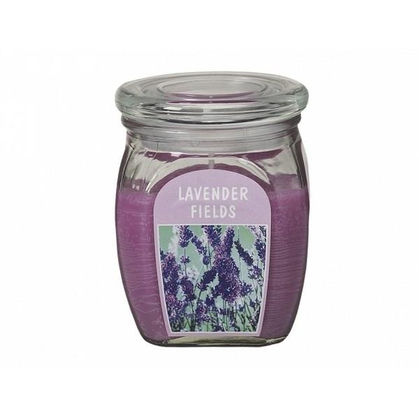 Sviečka v skle Levanduľa, 430 g