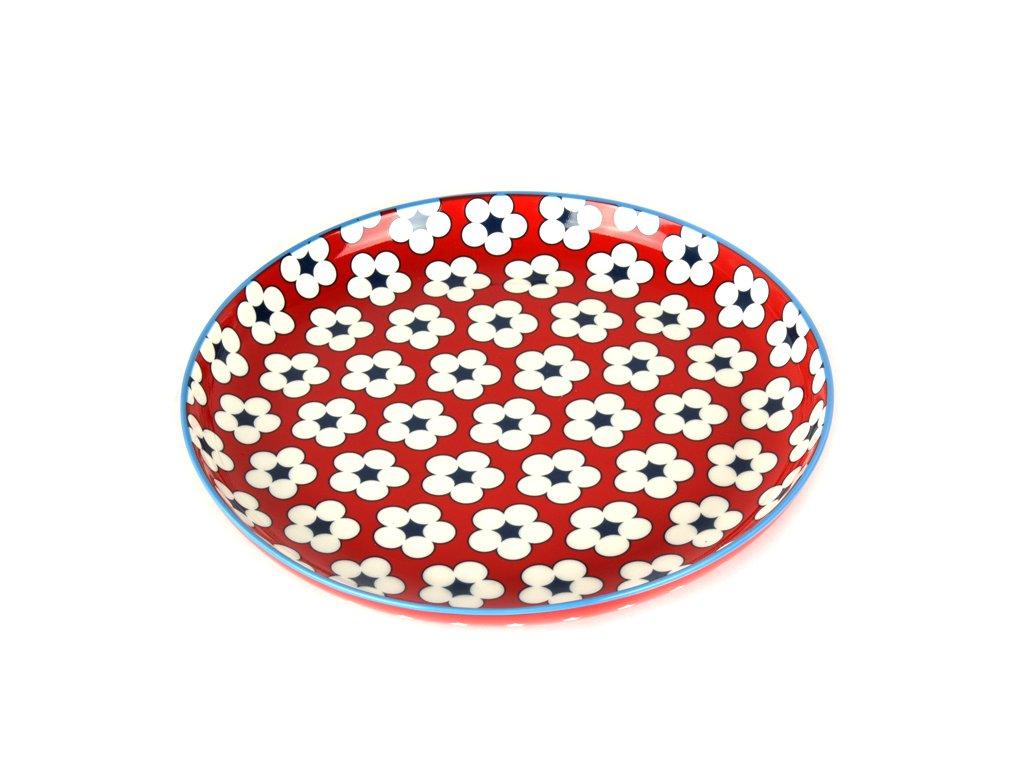 Maxwell & Williams Dezertný tanier červený 18,5 cm