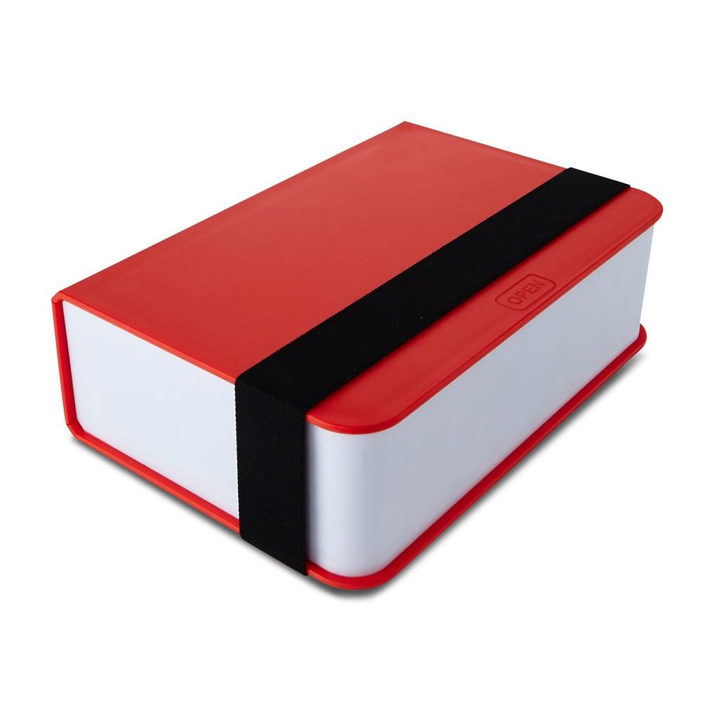 Červený desiatový box Black Blum Book