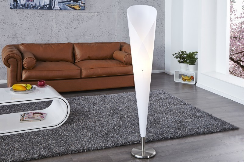 Stojaca lampa GELATO - biela