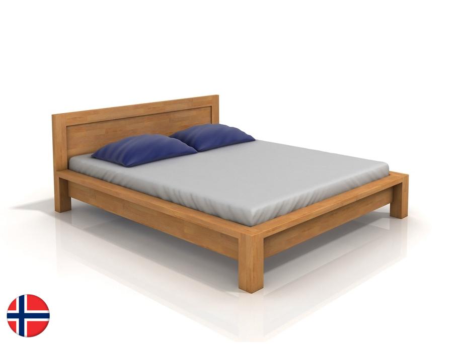Manželská posteľ 160 cm Naturlig Fjaerland (buk) (s roštom)