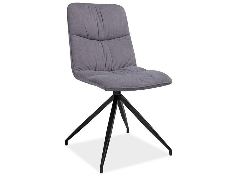 ALEXA jedálenská stolička, šedá
