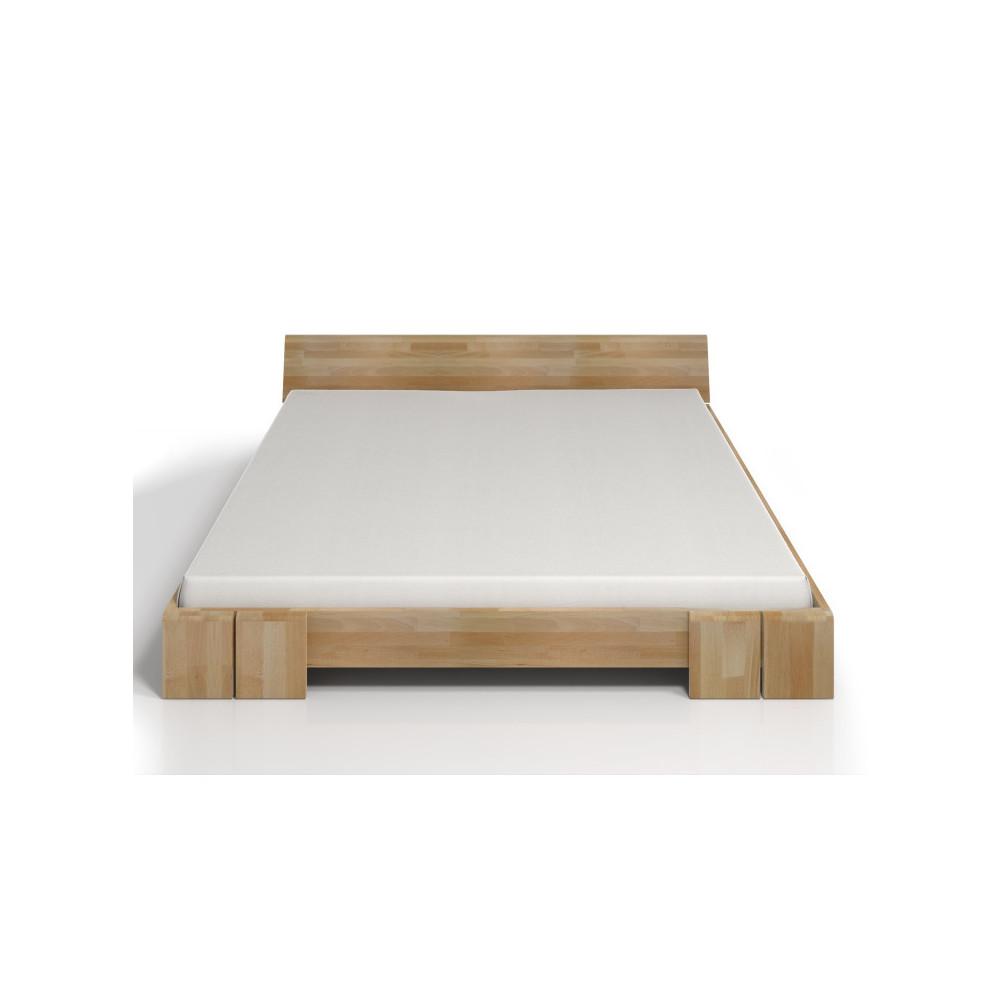 Dvojlôžková posteľ z bukového dreva SKANDICA Vestre, 140x200cm