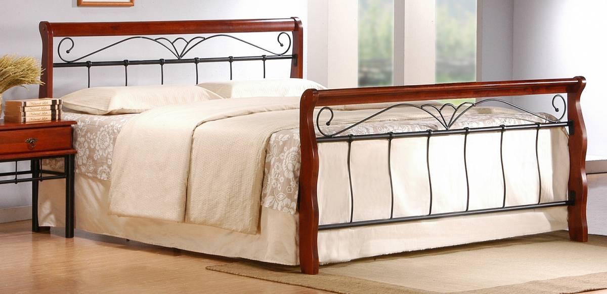 Manželská posteľ 160 cm Veronica 160 (s roštom)