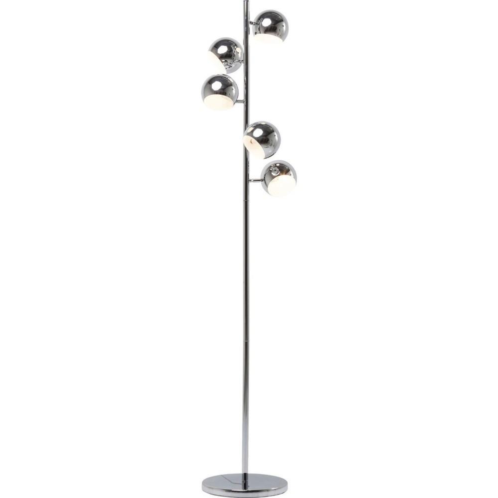 Stojacia lampa v chrómovej farbe Kare Design Calotta 5er