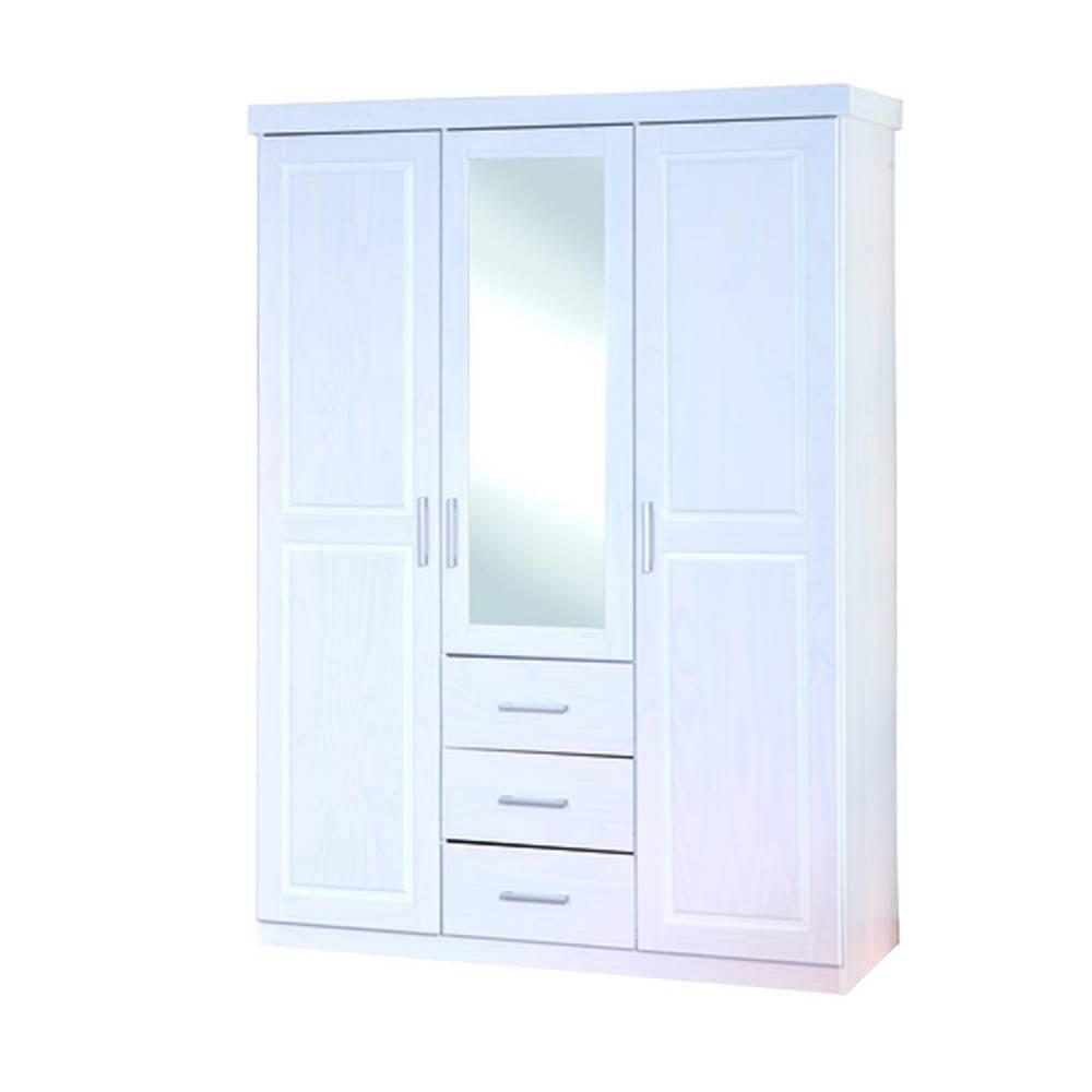 Geraldo - šatníková skriňa so zrkadlom