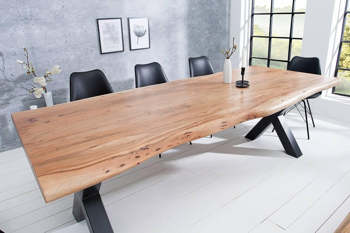 Bighome - Jedálenský stôl MATUM 200 cm - prírodná