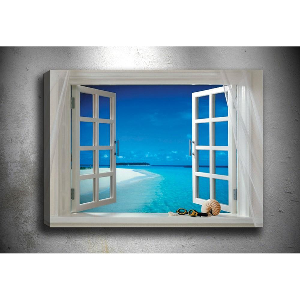 Obraz Tablo Center Open Window, 70 × 50 cm