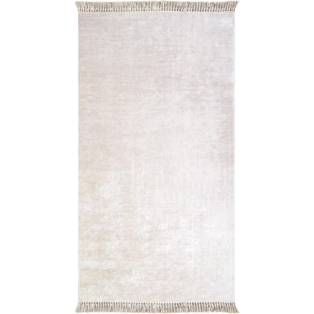 Koberec Vitaus Hali Geometrik Krem, 80×150cm