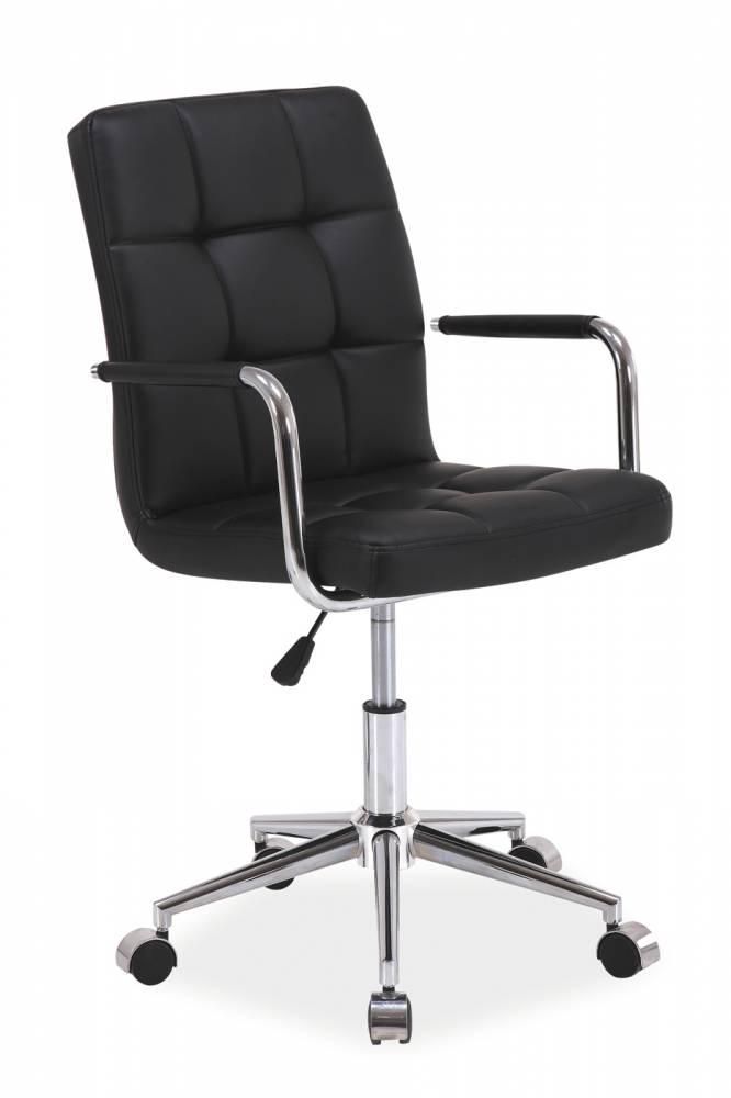 Kancelárske kreslo Q-022   Farba: Čierna