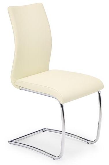 Jedálenská stolička K180 tmavokrémová