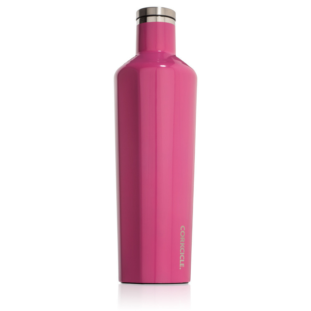 Ružová termofľaša Corkcicle Canteen, 740 ml