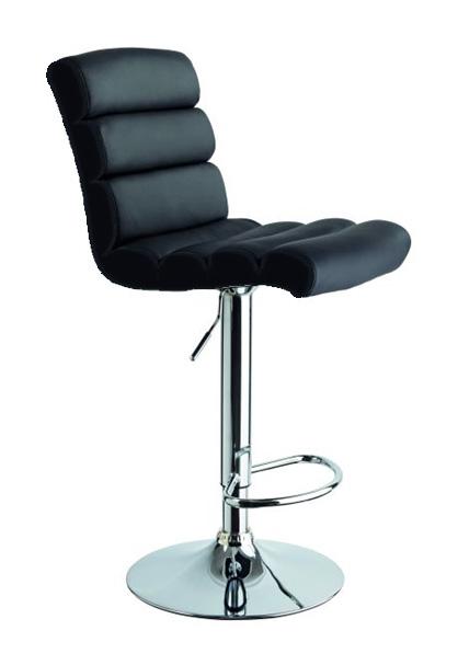 Barová stolička CB-617, čierna