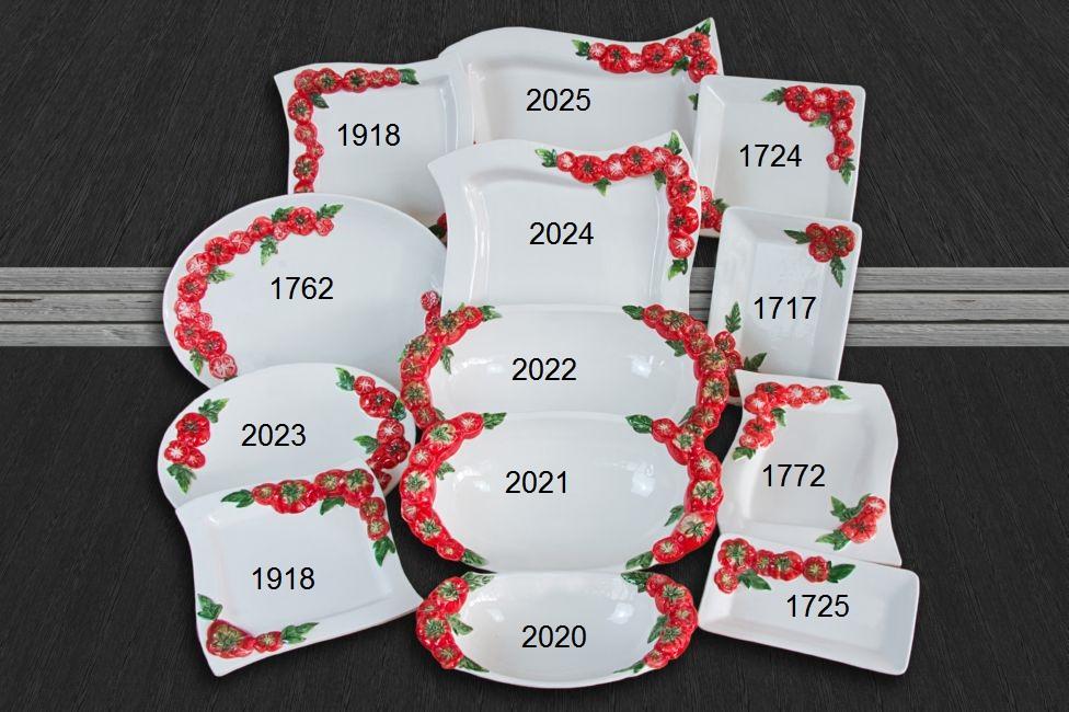 Set Paradajka 13, Set Paradajka 13 Tanier 1717