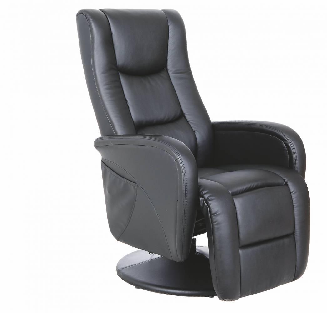 Relaxačné kreslo Pulsar (čierna)