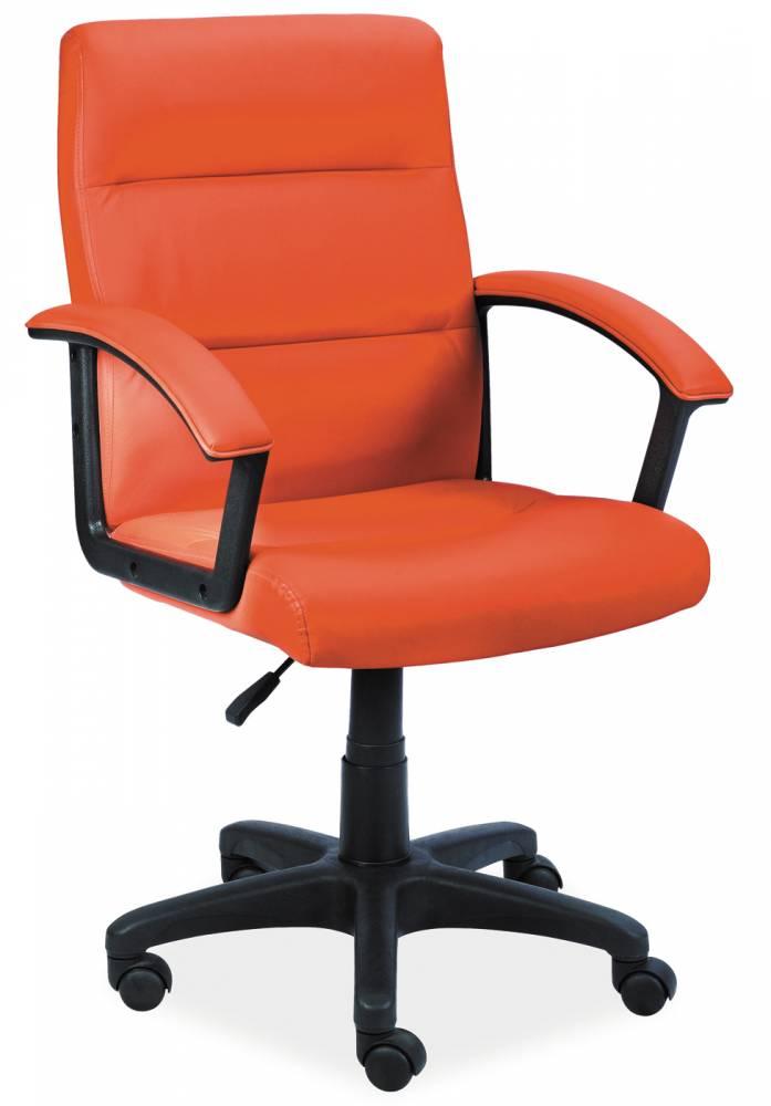 Kancelárske kreslo Q-094 / oranžová
