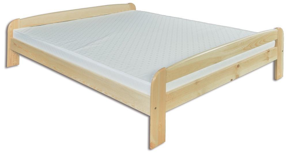 Manželská posteľ 140 cm LK 108 (masív)