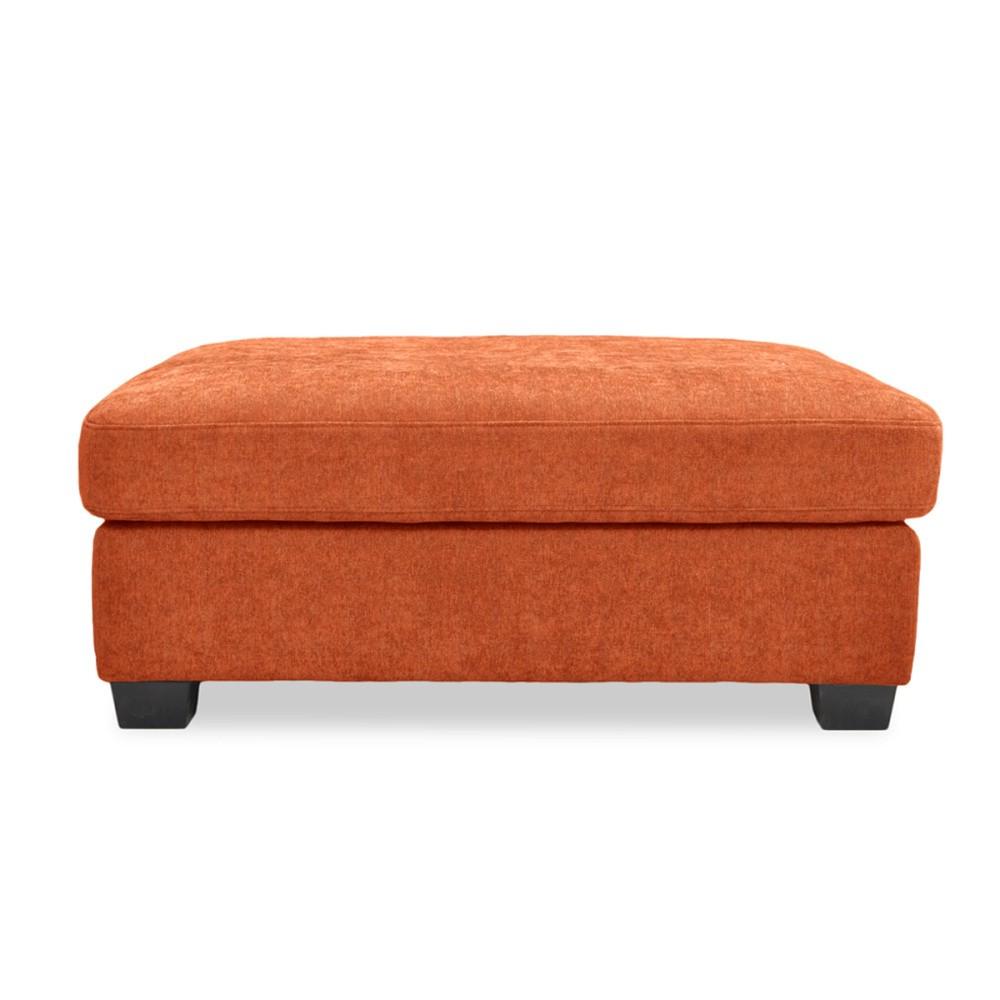 Oranžová podnožka Vivonita Hugo