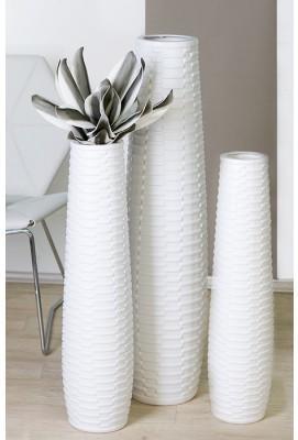 Váza CATANIA M - biela