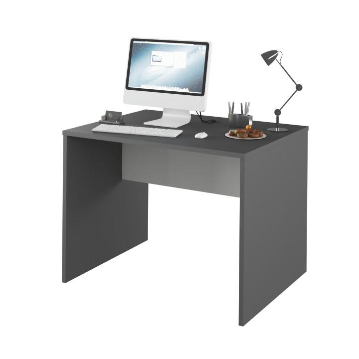 PC stolík Rioma TYP12 (grafit + biela)