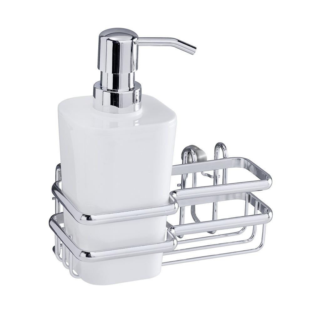 Nástenný držiak na umývacie pomôcky Wenko Wash Up Style