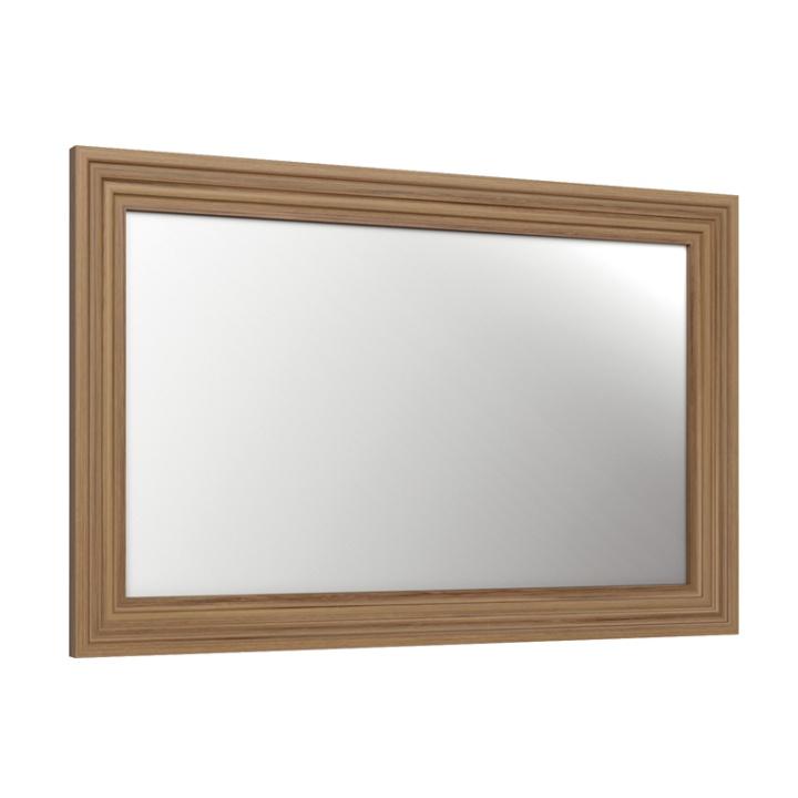 TEMPO KONDELA ROYAL LS zrkadlo - biela sosna nordická / dub divoký