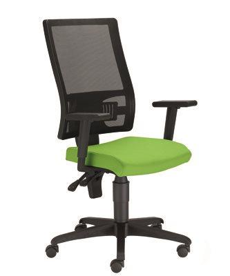Kancelárska stolička Taktik Mesh Ergon TS + GTP42BL zelená *výpredaj
