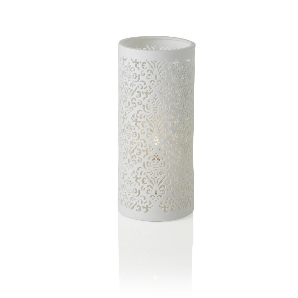 Porcelánová stolová lampa Brandani Jacquard