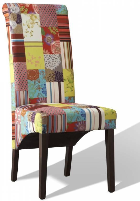 Jedálenská stolička PARADE - viacfarebná