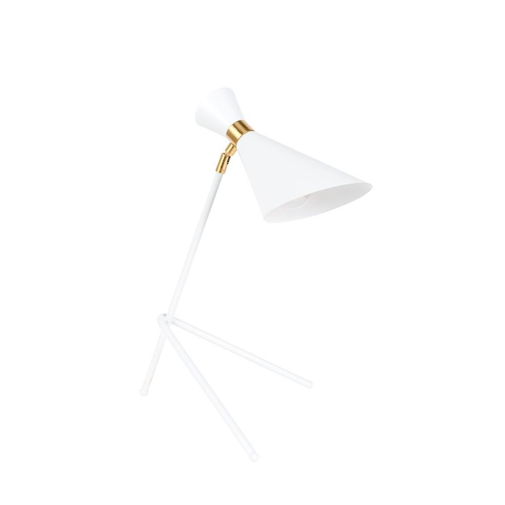 Biela stolová lampa Zuiver Shady