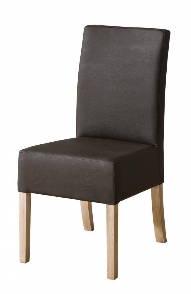 Jedálenská stolička C23 (tmavohnedá)