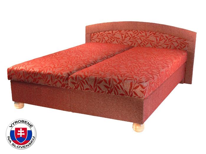 Manželská posteľ 160 cm Genova (s pružinovým matracom)