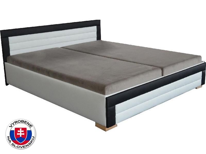 Manželská posteľ 160 cm Jarka (so sendvičovými matracmi)