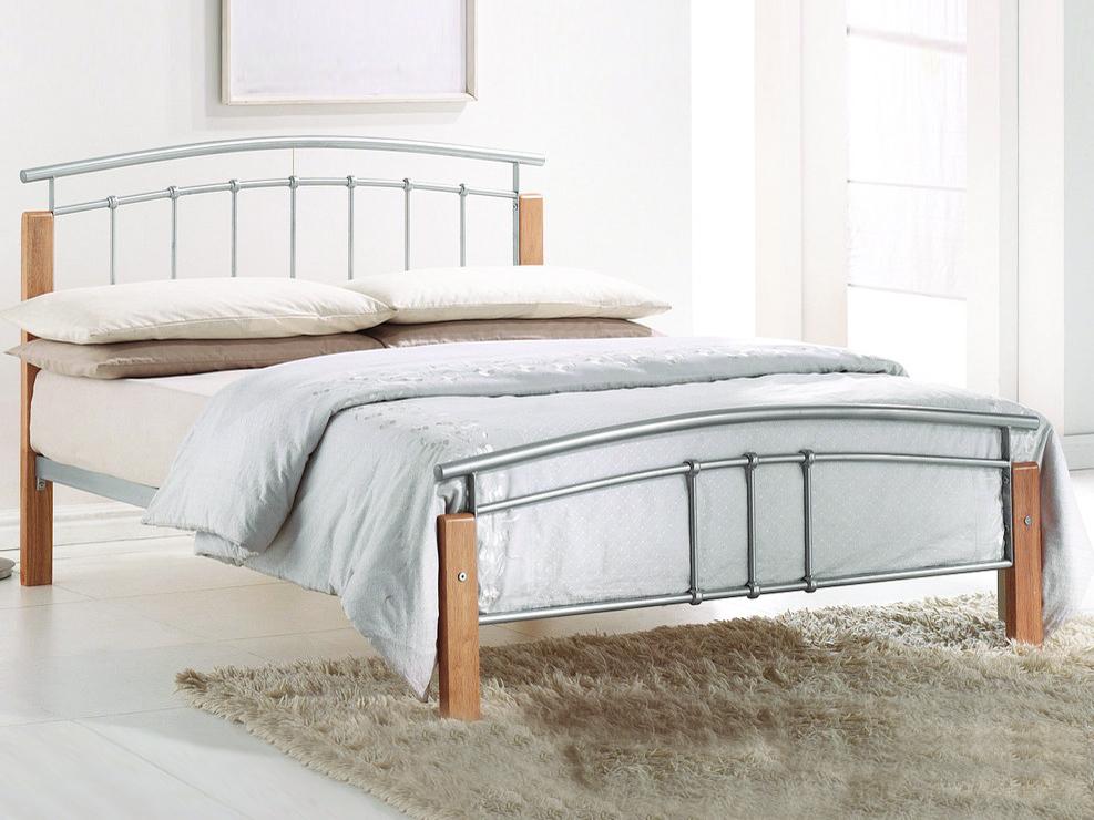 Manželská posteľ 140 cm Mirela (s roštom)