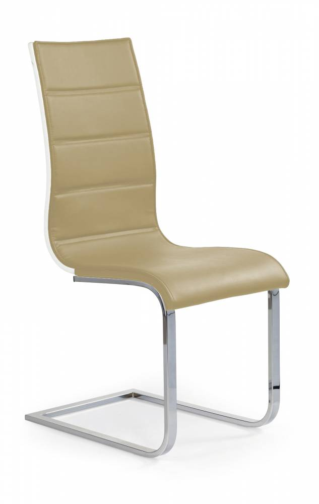 Jedálenská stolička K104 tmavobéžová