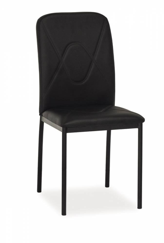 Jedálenská stolička HK-623, čierna/čierna