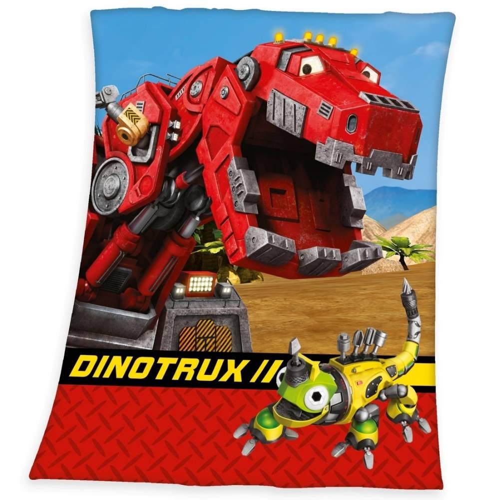 Herding Detská deka DinoTrux, 130 x 160 cm