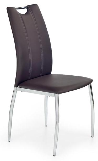 Jedálenská stolička K187 hnedá