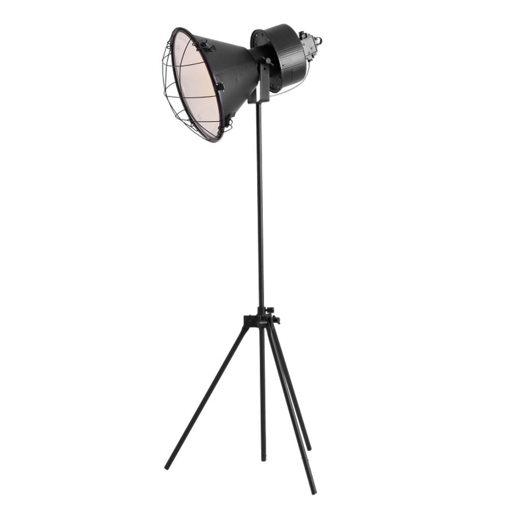 Čierna stojacia lampa Custom Form Loft